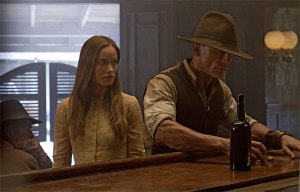 olivia wilde and daniel craig cow boys and aliens