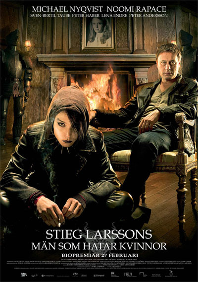 the girl with the dragon tattoo 2009 swedish