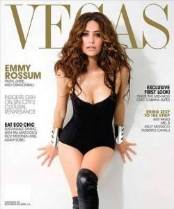 emmy rossum vegas magazine
