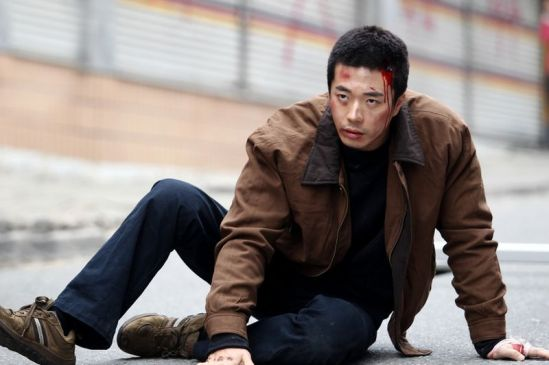 kwon sang woo in pain